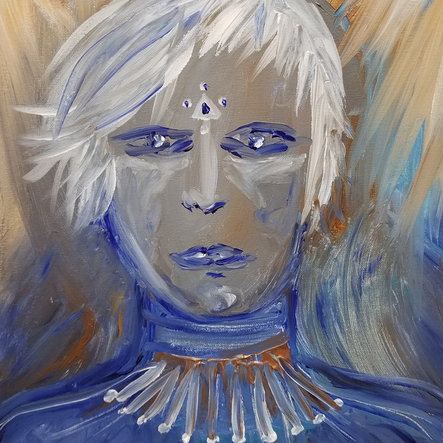 EyeAmCreations Reflection Painting Pleiadian