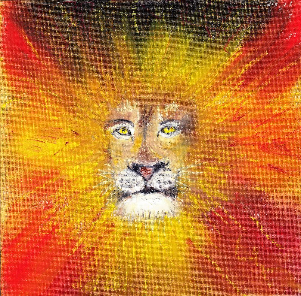 "Original Art ""Lion Medicine"""