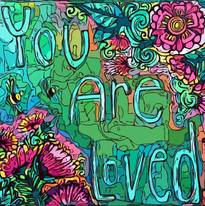 You Are Loved - green