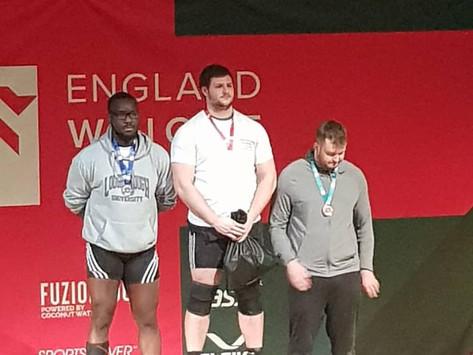 Coach Mack - English Weightlifting Champion