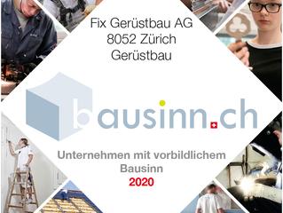 Bausinn-Award 2020 - Digital nachhaltig