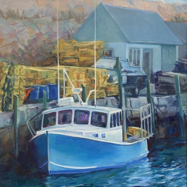 Cape Ann Lobster Boat
