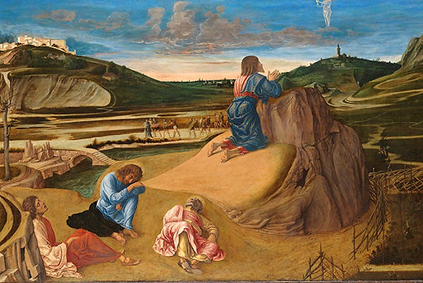 Mantegna, Andrea - Agony in the Garden.j