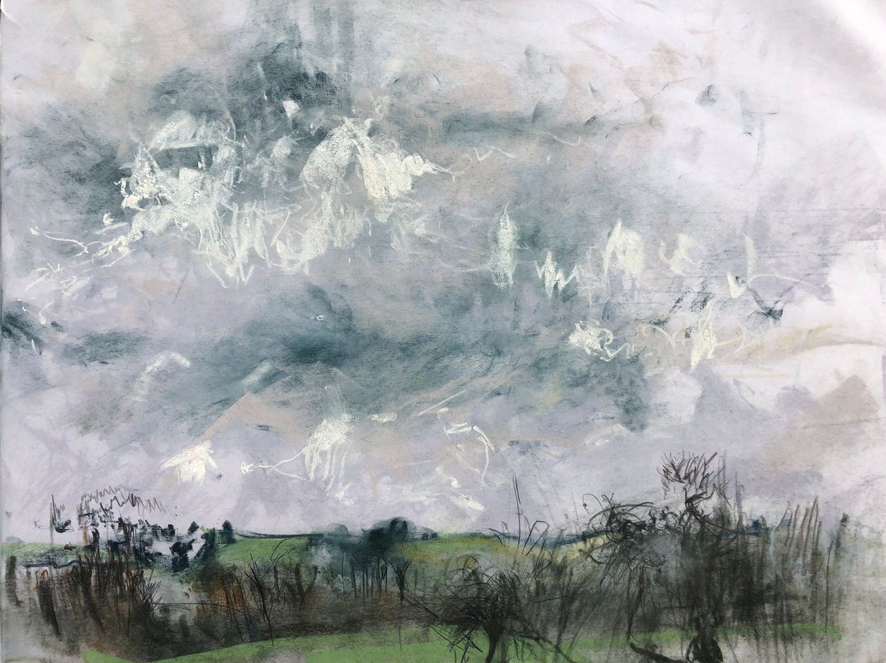 'Eastham Marshes, Somerset'