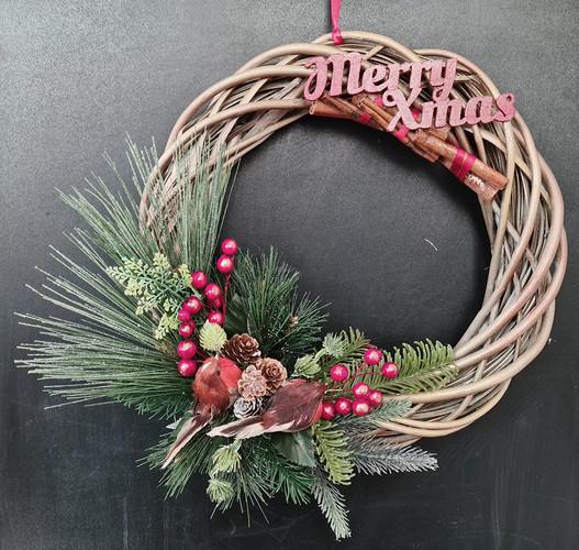 Christmas Door Wreath Collection