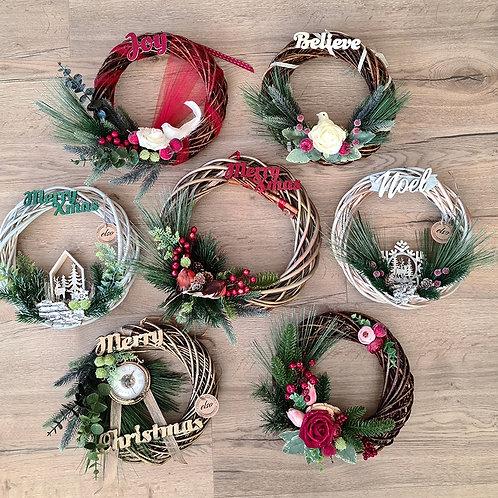 Customized Door Wreath