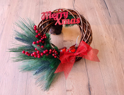 Christmas Wreath MerryXmas