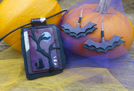 The Dark Night Collection Polymer Clay Set