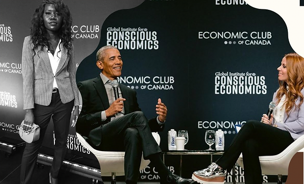 Conversations With Obama in Toronto