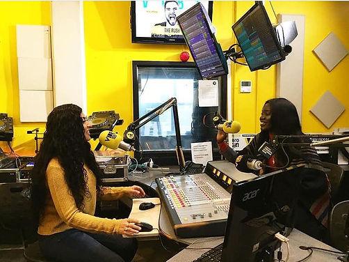 VIBE 105TO FM Radio  neecee lexy