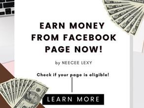 EARN MONEY from Facebook: Monetization program for content creators