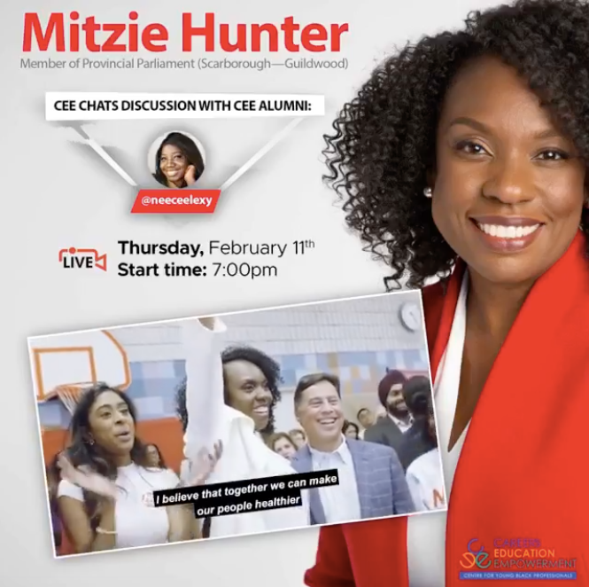 Mitzie Hunter LIve on CEE CHATs  with Neecee Lexy