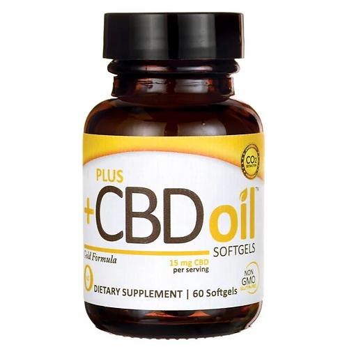 PlusCBD Oil 15mg Softgel 60ct