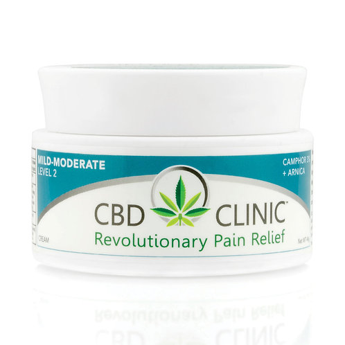 CBD Clinic Level 2 Cream 44g Jar