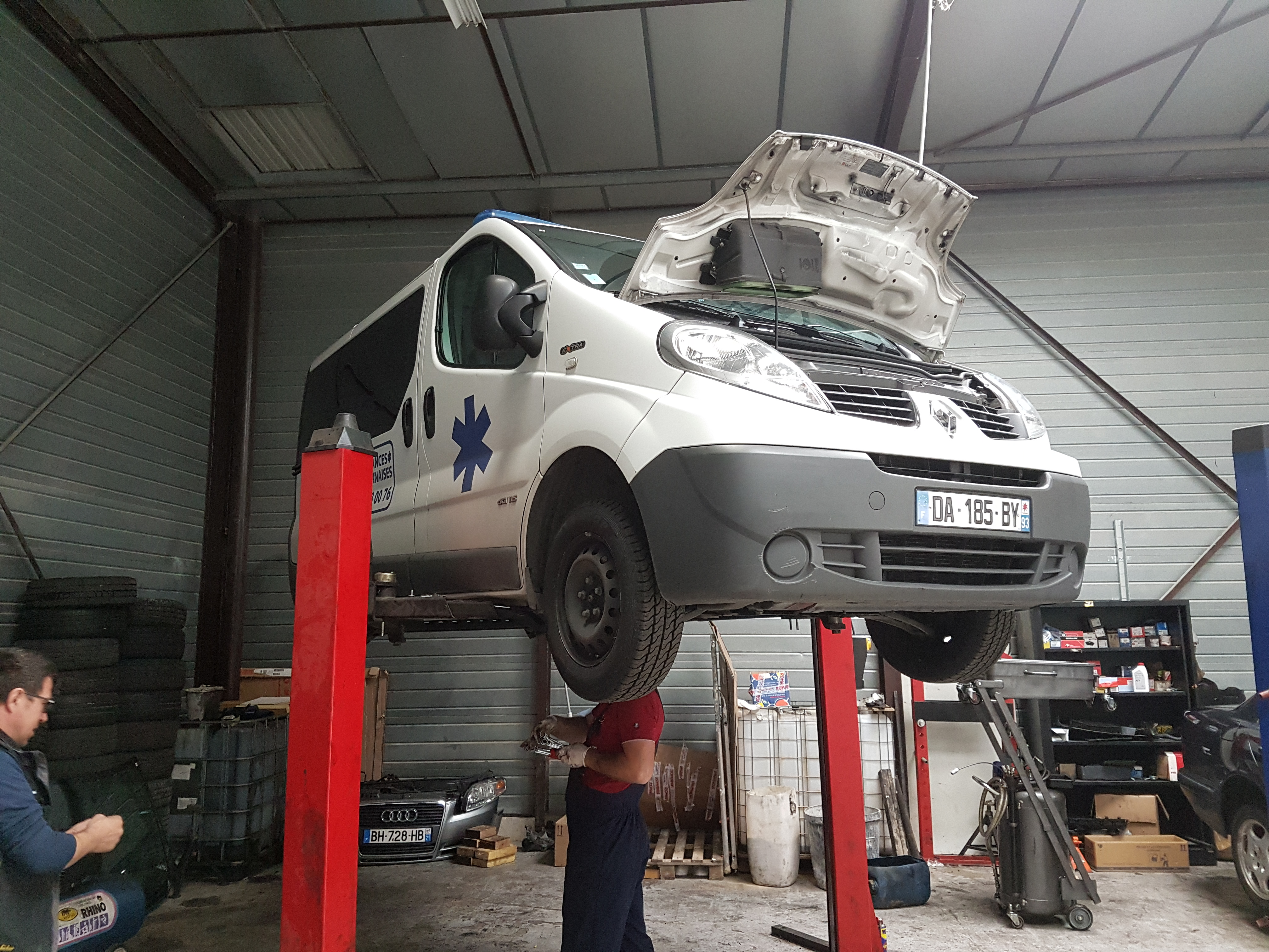 reparation camionette