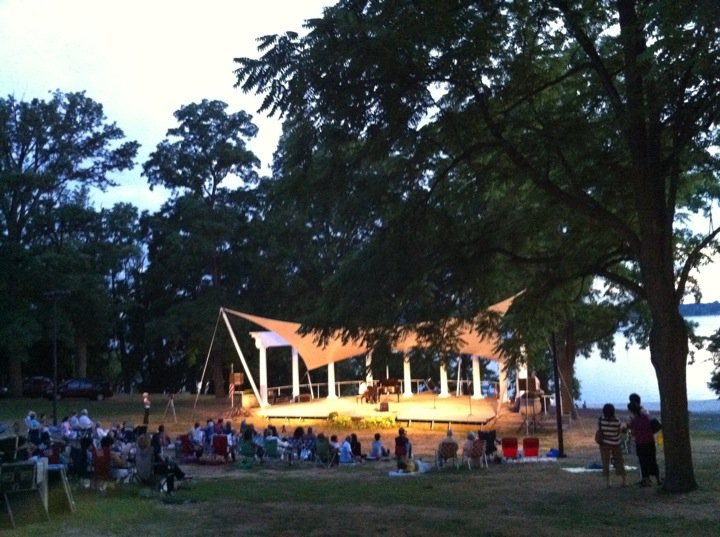 Concert at Morgan Memorial Park