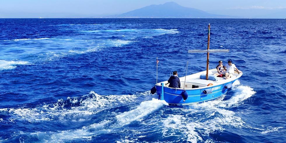 4 nap  Sorrento - Amalfi – Capri álomtúra privát hajóval