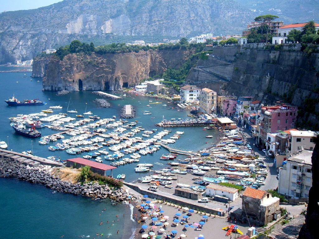 Piano di Sorrento- Veduta Marina di Cass
