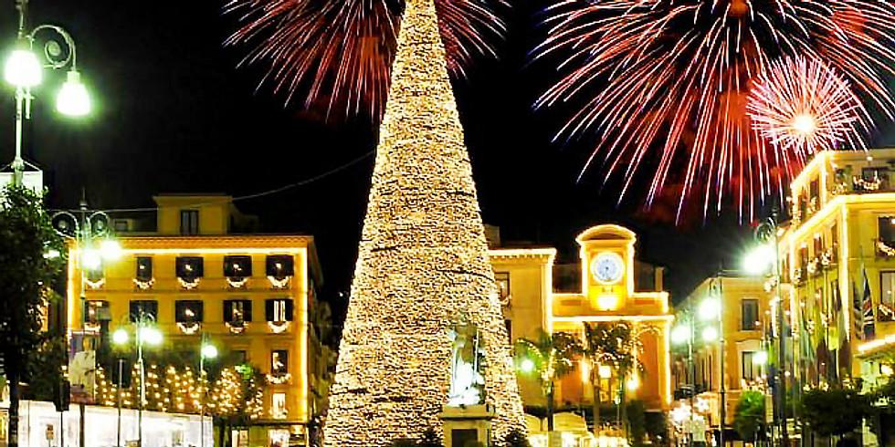 Karácsonyi vásár Nápolyban Sorrentoban és Salernoban