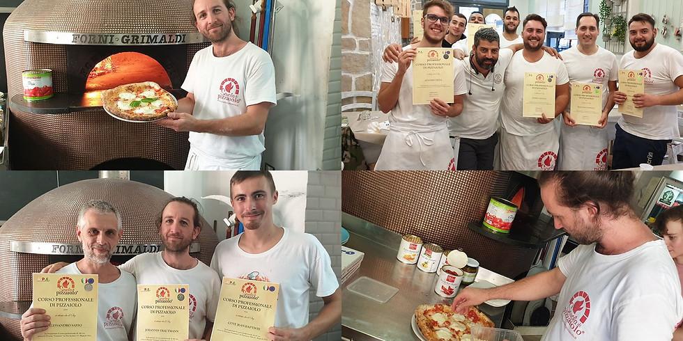 Profi pizzaiolo tanfolyam Nápolyban