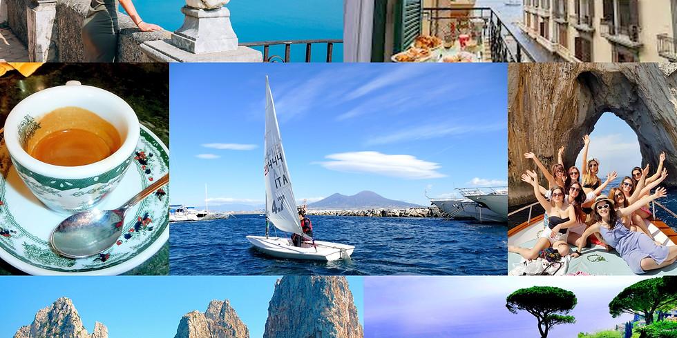 Nápoly Capri Amalfi hétvége szeptember 2