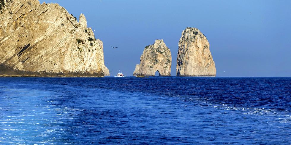 6 nap Nápoly Sorrento - Amalfi – Capri álomtúra privát hajóval  - szeptember