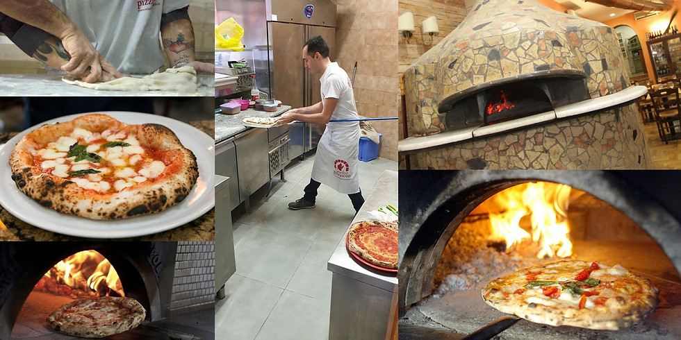 Pizzaiolo tanfolyam Nápolyban - műkedvelőknek