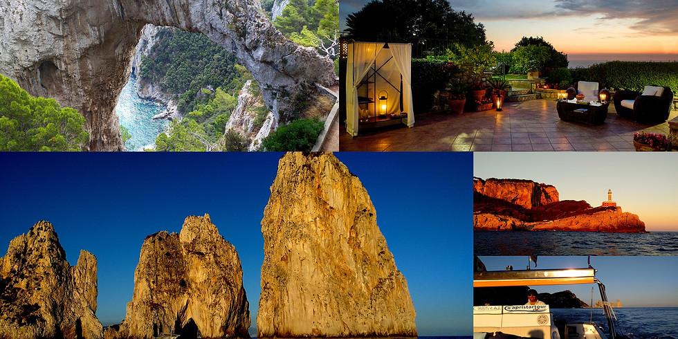 Capri naplemente tour