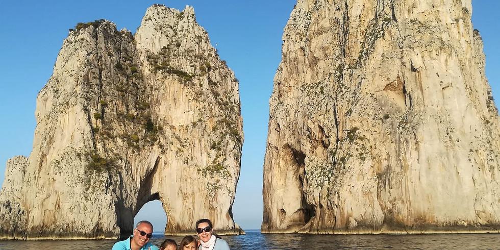 6 nap Nápoly Sorrento - Amalfi – Capri álomtúra privát hajóval 2