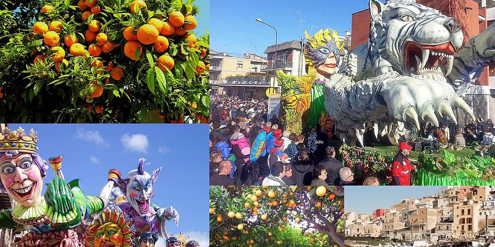 Karnevál és narancsszüret Szicílián (1)
