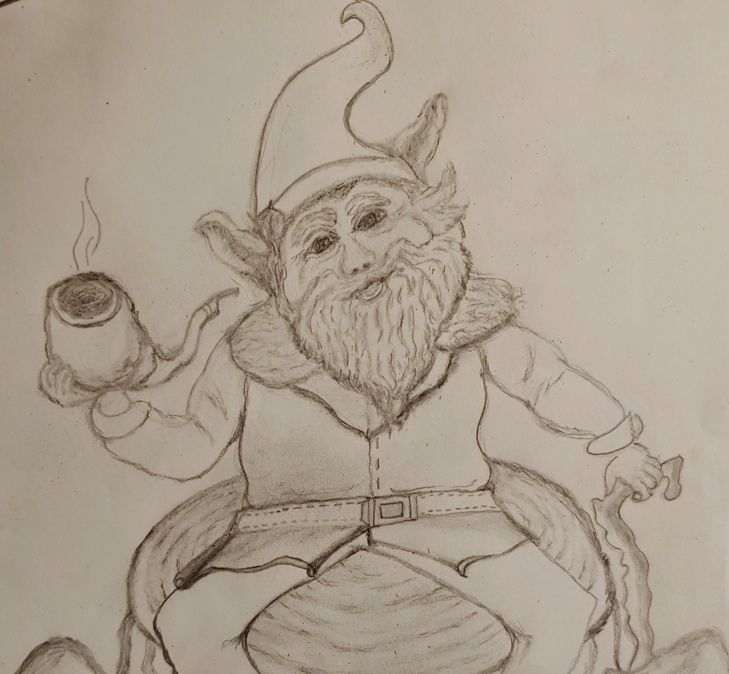 This was the start of my Gnome