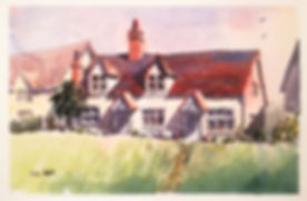 Cottage On The Hill, Finchingfield..jpg