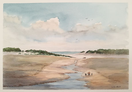 Low Tide, Holkam Beach, Norfolk..jpg