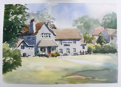 The Horse and Groom, Galleywood Common.j