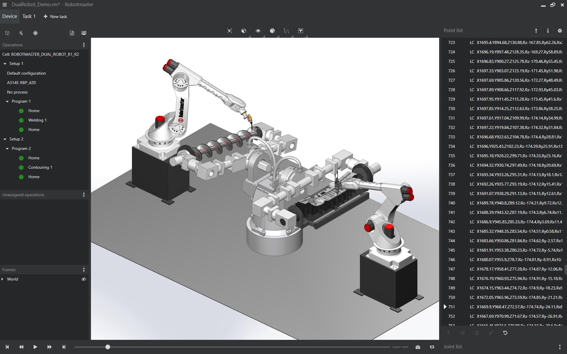 Robotmaster - Dual Robot Cell