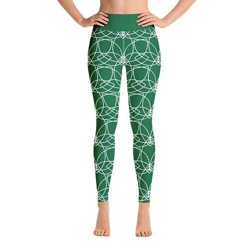 Lotus Sacred-G Legging : Green