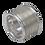 Thumbnail: Large silver bobbin ring