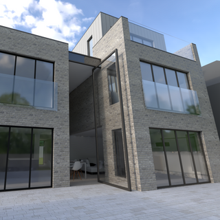 CGI of new dwelling in Exeter