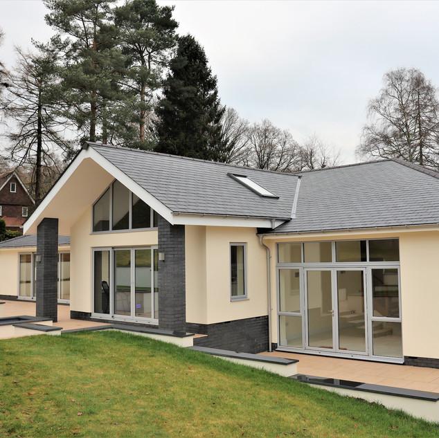 New build detached bungalow in East Devon