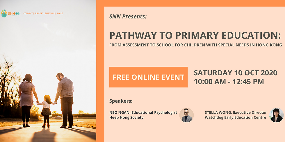 Pathway to Primary Education: From Assessment to School for Children with Special Needs in Hong Kong