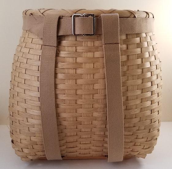 Large Pack Basket in walnut