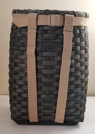 Medium Pack Basket in ebony