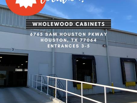 Wholewood Cabinets - New Houston Location!