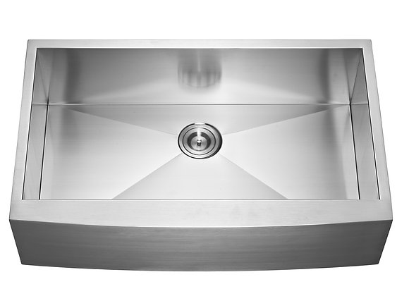 35″ Single Bowl Farm/Apron Sink AP3522C-36S
