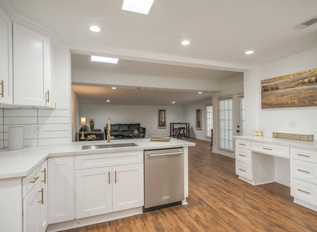 Chic White Kitchen Remodel | Wholewood Cabinets