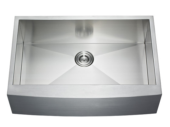 33″ Single Bowl Farm/Apron Sink AP3322C-33S