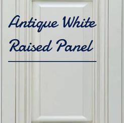 Antique White Raised Panel