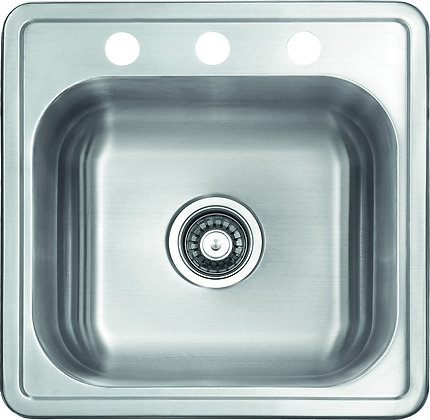 Top Mount Single Bowl Sink SM2522