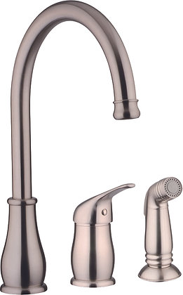 Single Handle Faucet with Sprayer N88903-BN