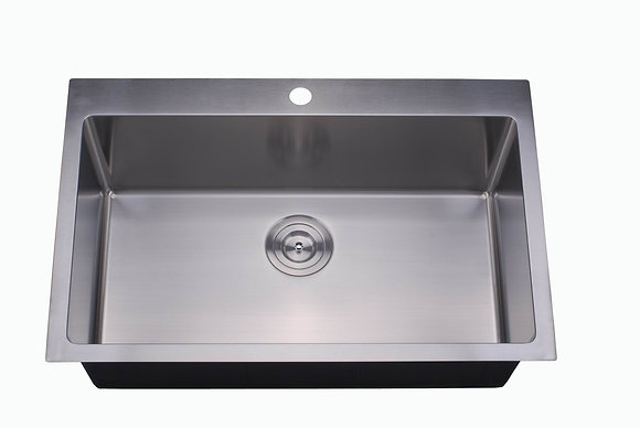 Topmount Single Bowl Sink RD3322-S